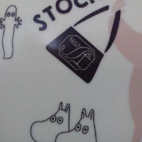 ストックマン150周年ムーミン絵柄